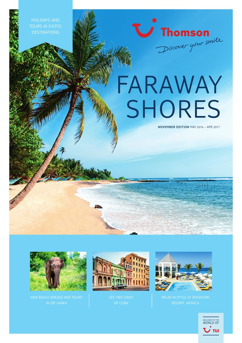 thomson holidays far away shore brochure 2017