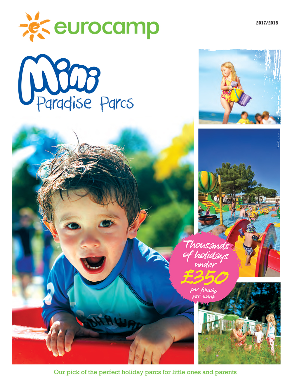 eurocamp toddlers camping  holidays