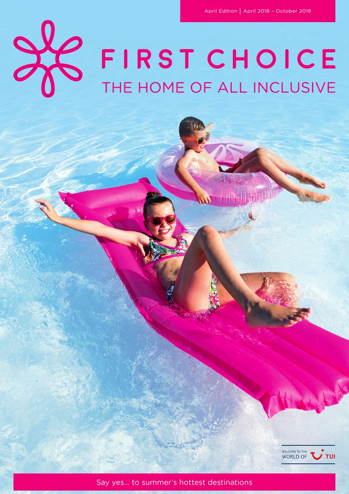 first choice all inclusive summer sun brochure