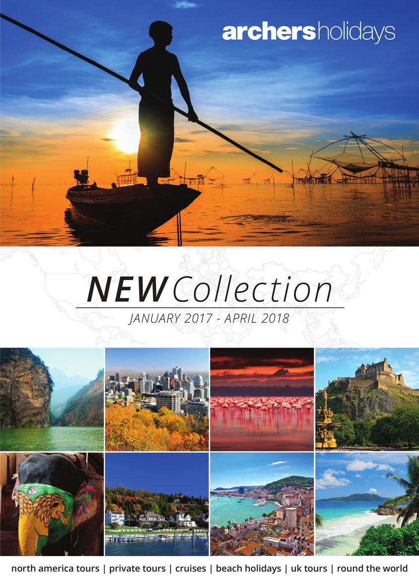 archers holidays new collection beach holidays brochure 2017
