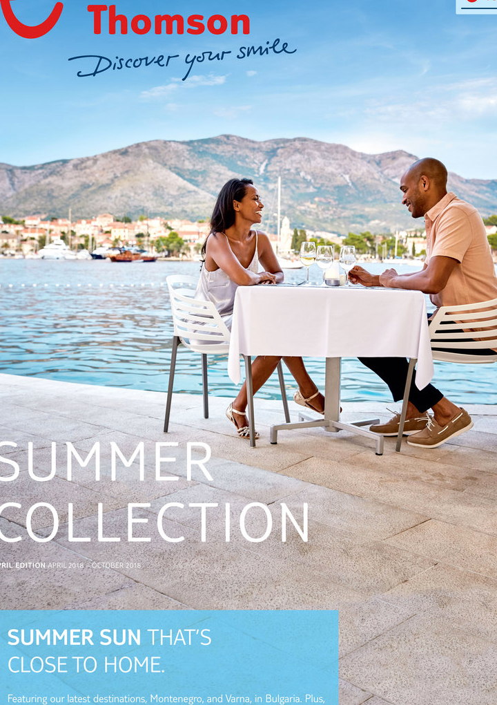 thomson holidays summer collection brochure 2018