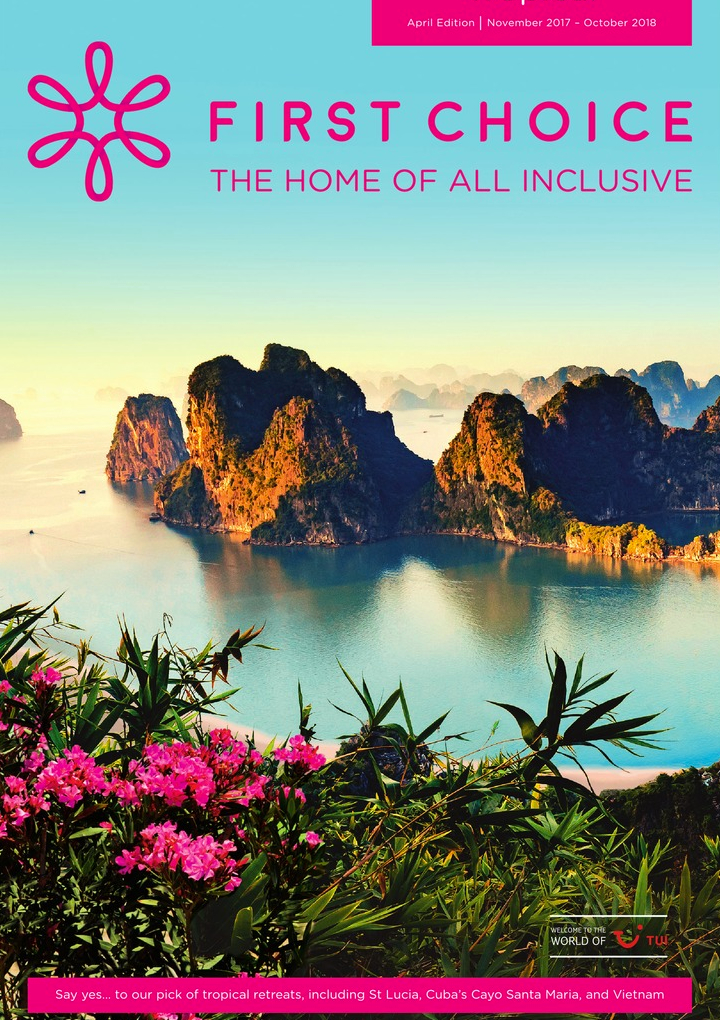 first choice tropical brochure 2018