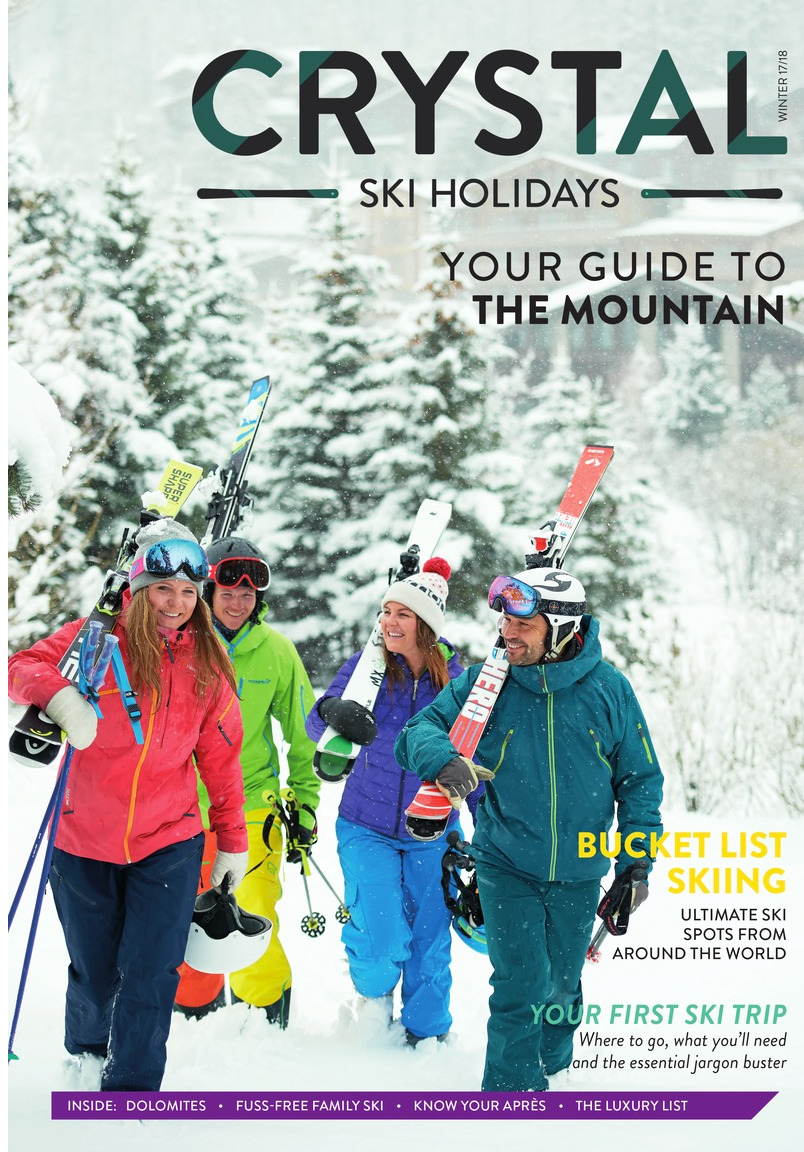 crystal ski mountain guide brochure winter 2017 & 2018