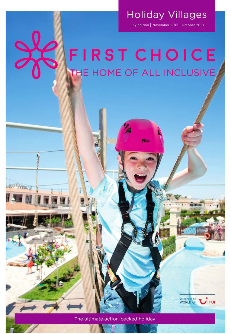 first choice all inclusive holiday villages brochure