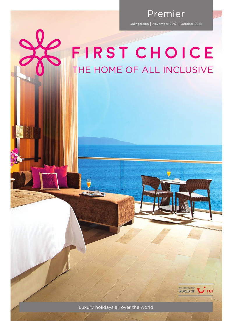 first choice all inclusive premier holidays