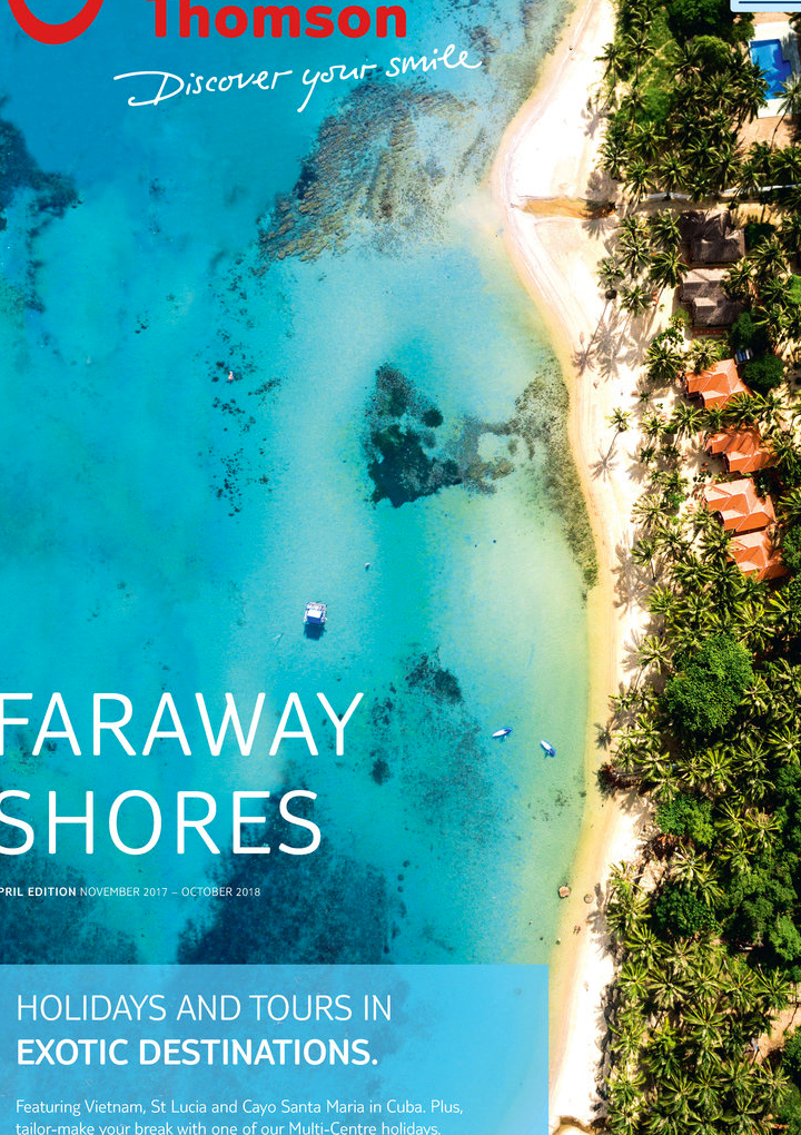 thomson holidays far away shore brochure 2018