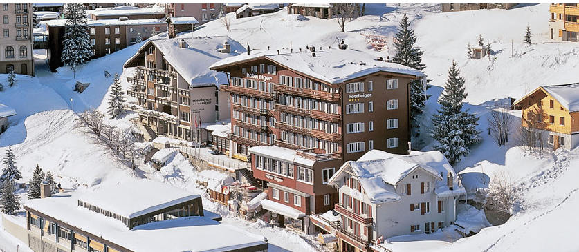 Inghmas hotel eiger grindelwald January ski offer