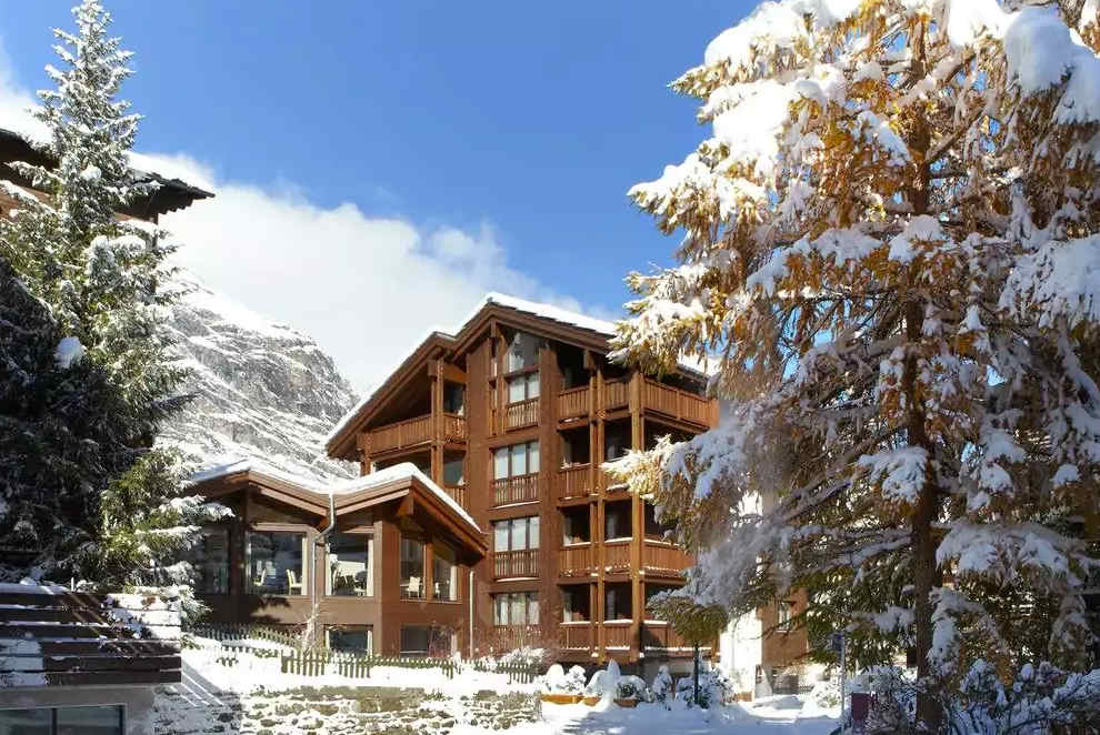 Europe Hotel & Spa luxury skiing in Zermatt offer