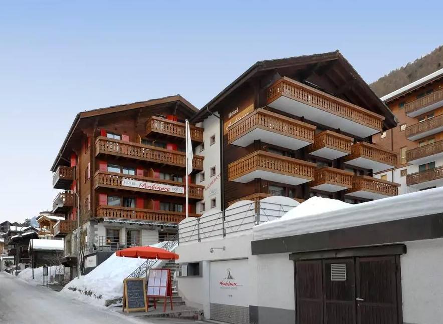 hotel ambiance superior zermatt December ski holiday offer