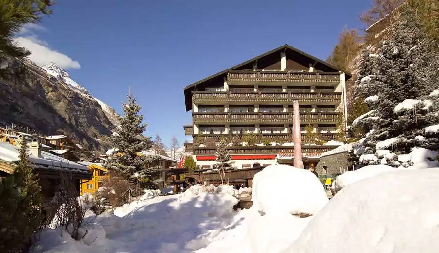 Zermatt ski Hotel Antares Christmas deal offer