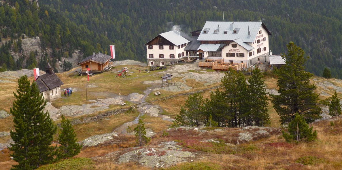 zufallhutte in south tirol mountain hut adventure holiday