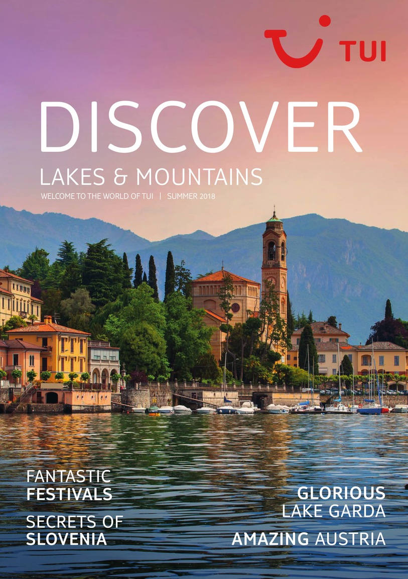TUI Lakes and MOUNTAINS brochure 2018