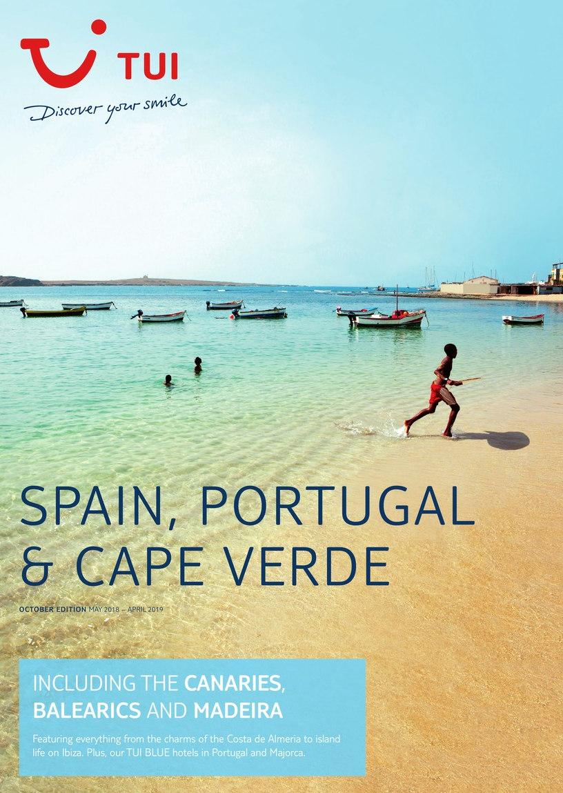 tui holidays spain portugal cape verde brochure 2018