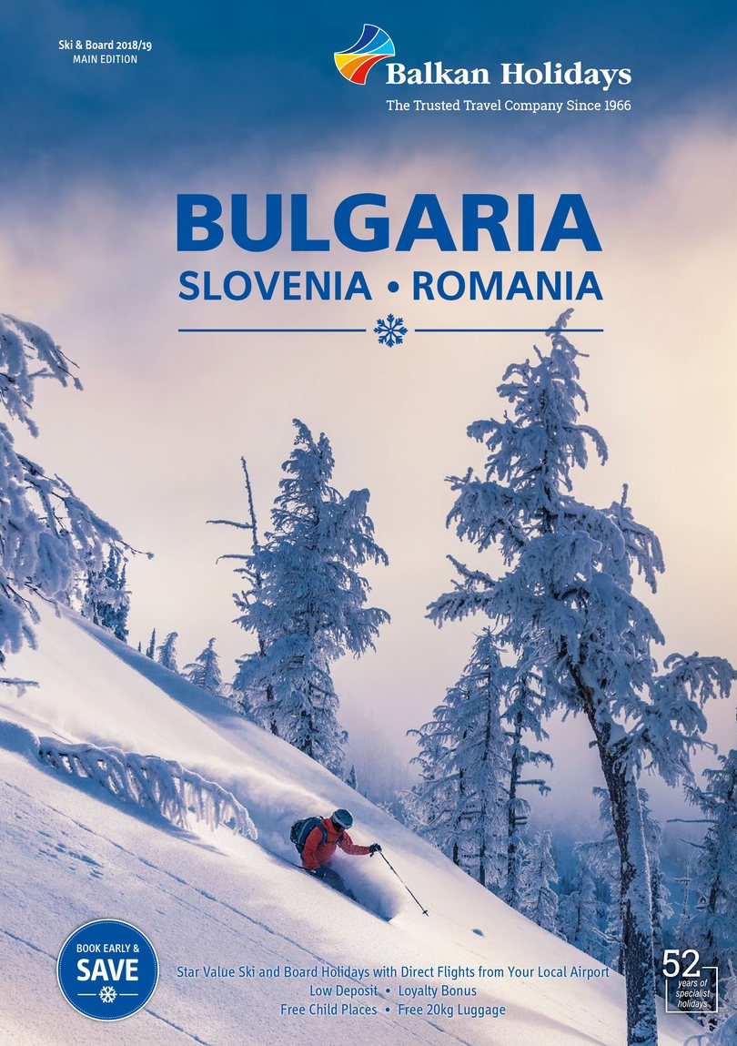 Balkan ski, snowboard winters sport brochure 2019 on holidaynet
