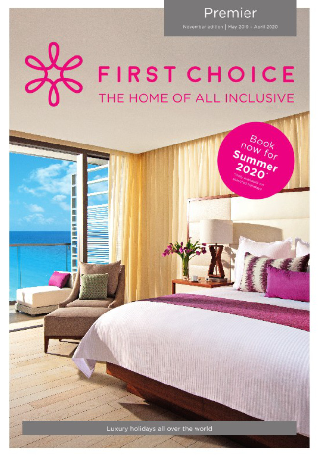 first choice all inclusive premier holidays brochure 2019 2020