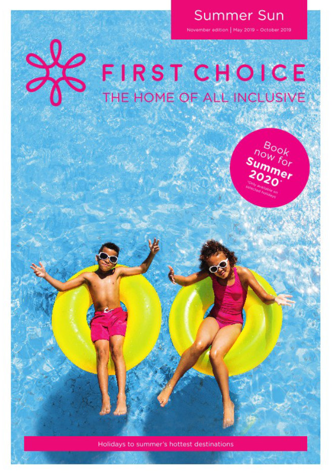 first choice all inclusive summer sun brochure 2019 2020 on holidaynet