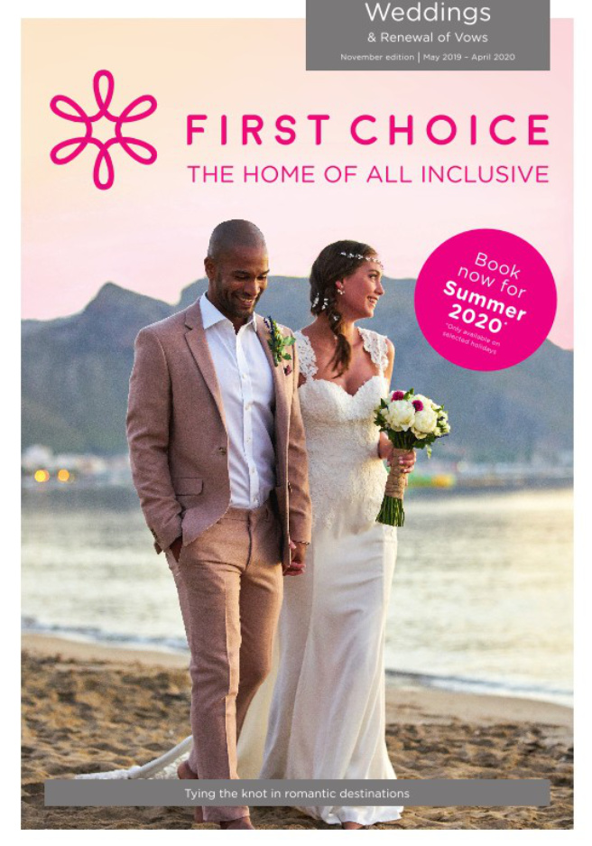 first choice all inclusive weddings brochure 2019 2020 on holidaynet