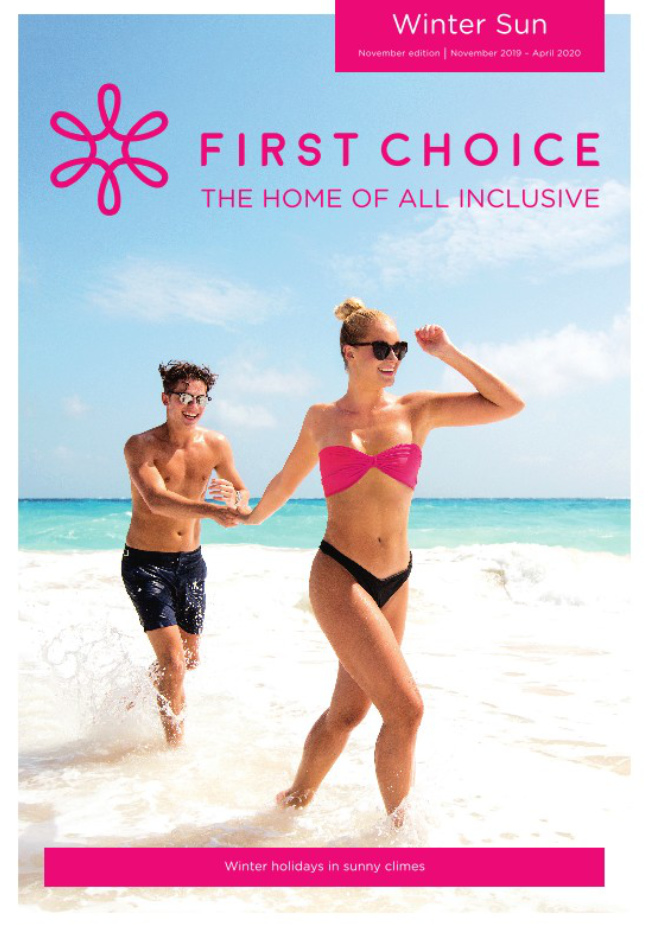 first choice all inclusive winter sun brochure 2019 2020 on holidaynet
