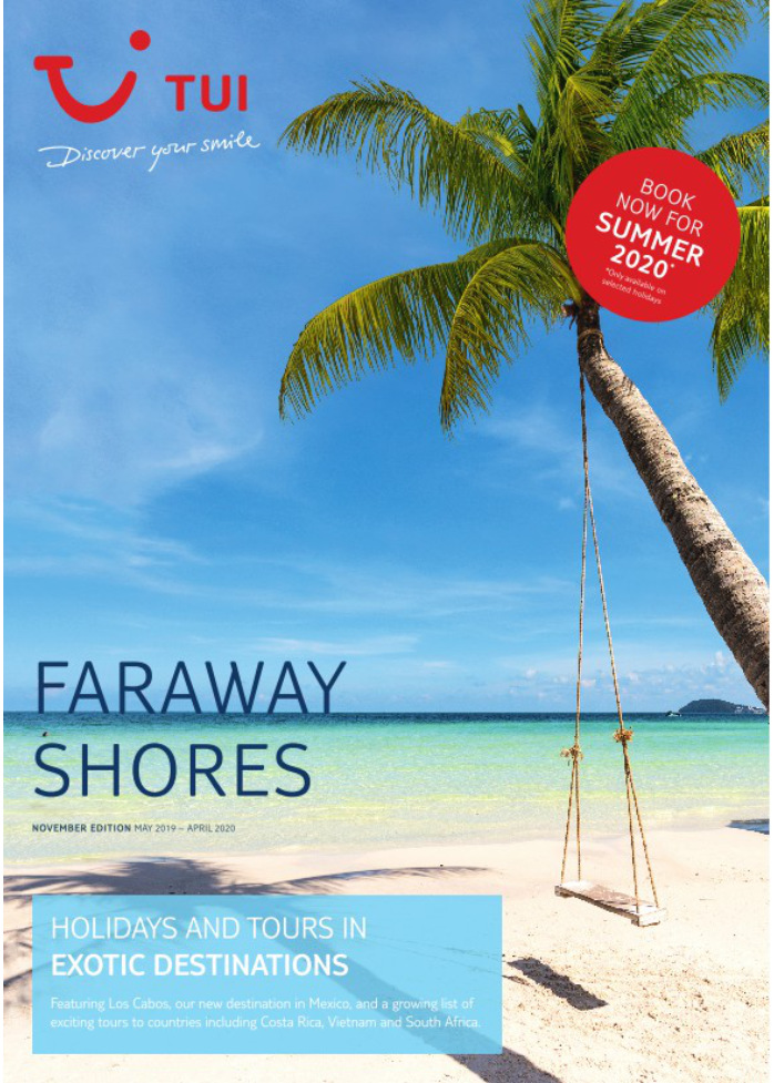 tui holidays far away shore brochure 2019 2020 on holidaynet