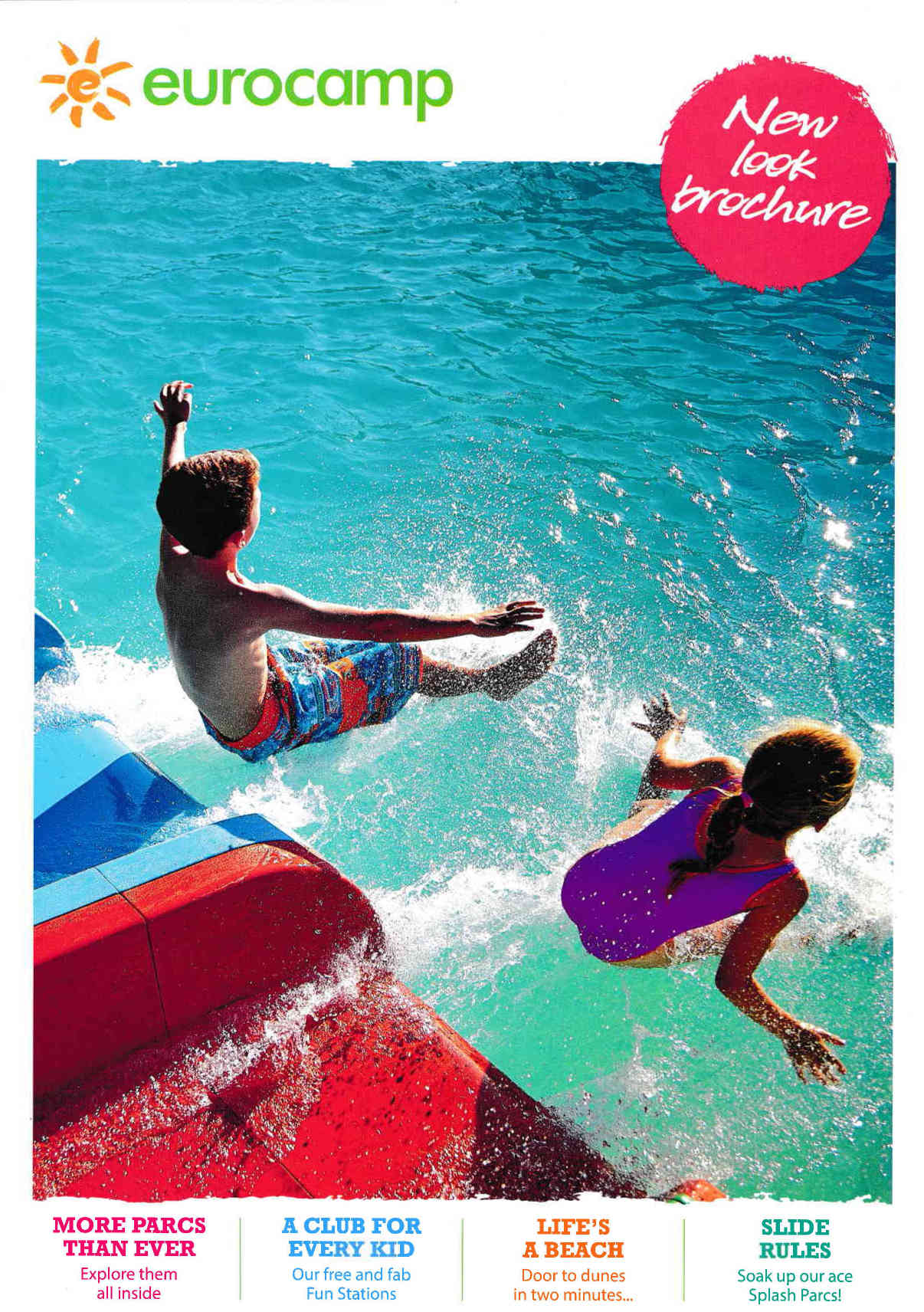 eurocamp family camping holidays brochure 2019